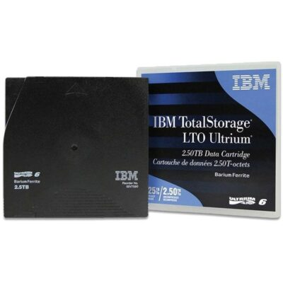 IBM LTO Ultrium Data Cartridge LTO6