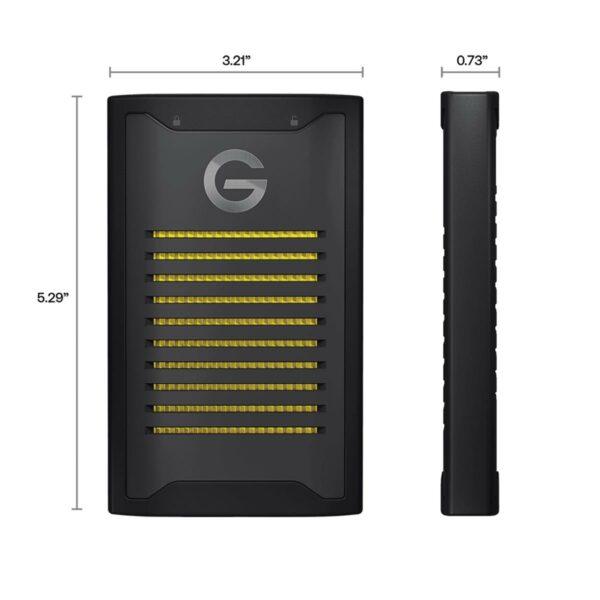 SanDisk Professional G-DRIVE ARMORLOCK SSD